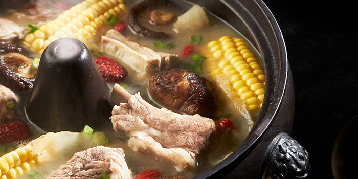 Healthy Steaming Pot Bak Kut Teh from Old Street Bak Kut Teh (Funan Mall) at Funan Mall in City Hall, Singapore