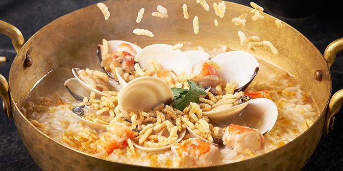 Seafood Porridge from Old Street Bak Kut Teh (Funan Mall) at Funan Mall in City Hall, Singapore