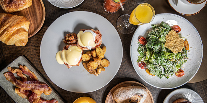 Brunch Food Spread from One-Ninety at Four Seasons Hotel Singapore in Orchard Road, Singapore