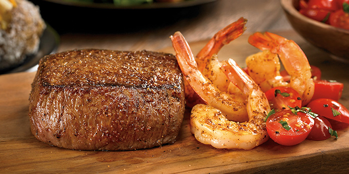 Fillet & Grilled Shrimp from Outback Steakhouse at Orchard Gateway in Orchard, Singapore