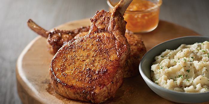 Grilled Pork Chops from Outback Steakhouse at Orchard Gateway in Orchard, Singapore