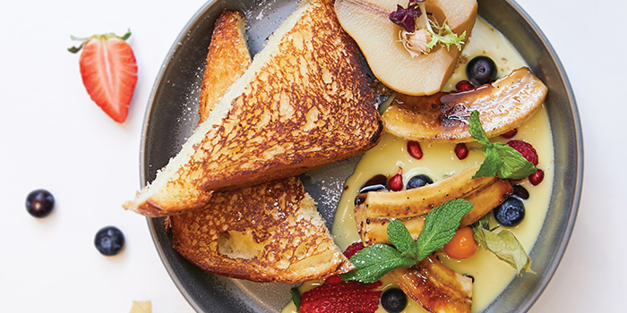 French Toast from Pazzion Cafe at Jewel Changi Airport in Changi, Singapore