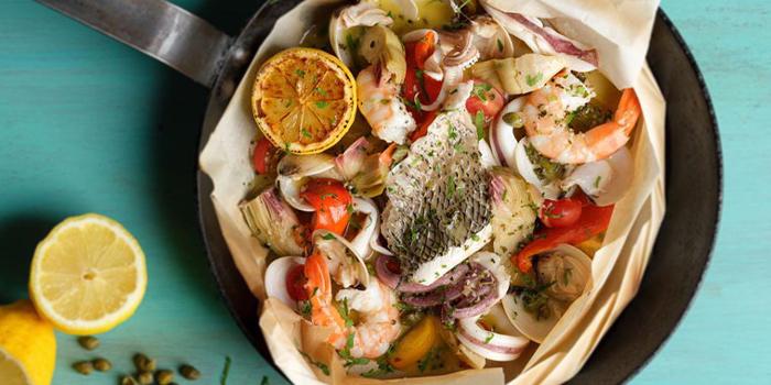 Baked Seafood Misto from Peperoni (Botanic Gardens) at Singapore Botanic Gardens in Tanglin, Singapore