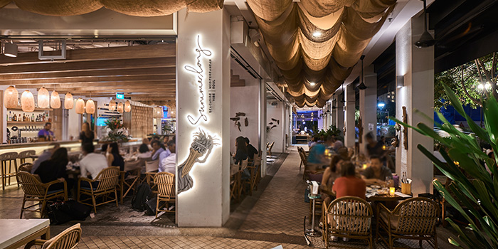 Interior of Summerlong at The Quayside in Robertson Quay, Singapore
