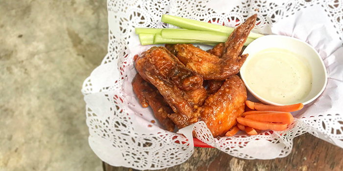Buffalo Wings from The Pit Restaurant & Bar in Holland Village, Singapore