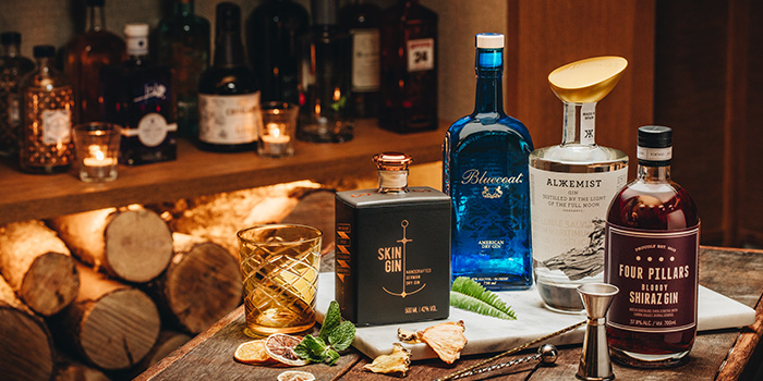 Premium Gin from Tonic in JW Marriott Hotel Singapore South Beach in City Hall, Singapore