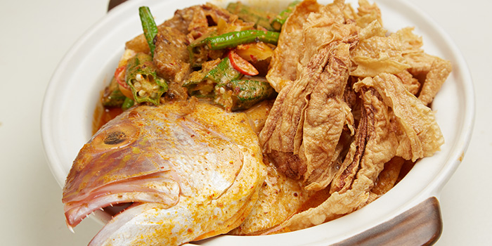 Curry Fish Head from Ubin Kitchen in East Coast, Singapore