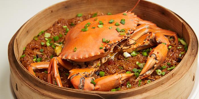 Glutinous Rice Steam Crab from Ubin Kitchen in East Coast, Singapore