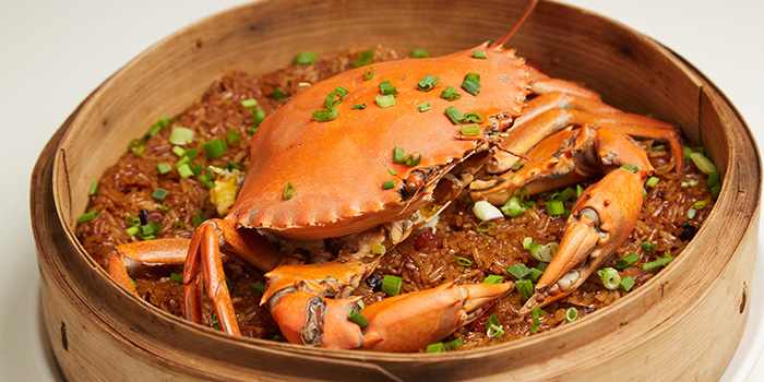 Glutinous Rice Steam Crab from Ubin Kitchen in East Coast, Singapore