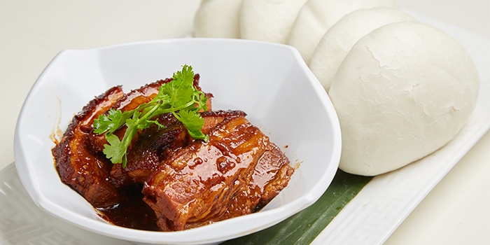 Braised Slice Pork with Bun from Ubin Kitchen in East Coast, Singapore