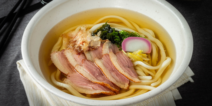 Smoked Duck Udon from Udon Kamon at Suntec City Tower 1 in Promenade, Singapore