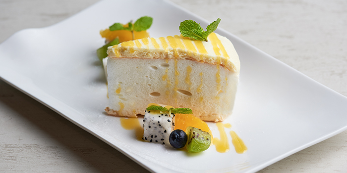 Pavlova from WAKANUI Grill Dining Singapore at Marina One The Heart West Tower in Marina Bay, Singapore