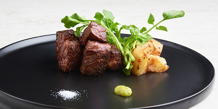 Wagyu Creation from WAKANUI Grill Dining Singapore at Marina One The Heart West Tower in Marina Bay, Singapore