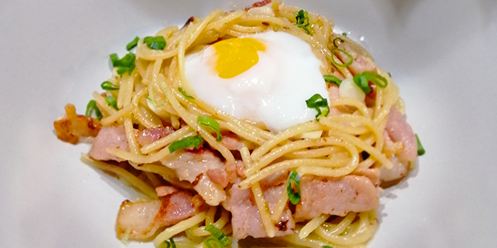 Carbonara from Whale Lala Cafe at The Commerze@Irving in Tai Seng, Singapore