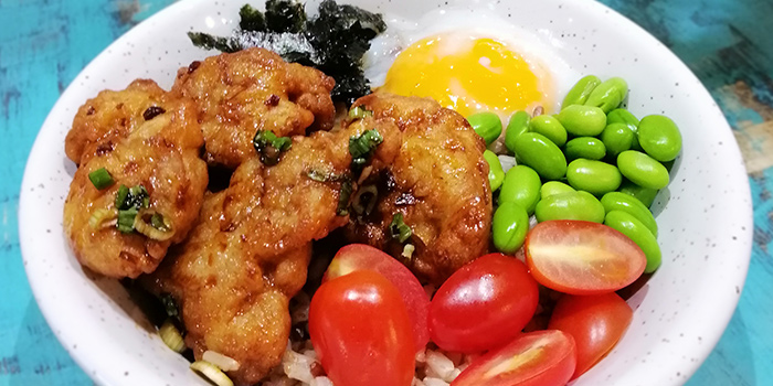 Chicken Karaage Don from Whale Lala Cafe at The Commerze@Irving in Tai Seng, Singapore