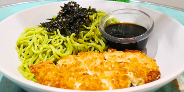 Cold Soba & Katsu from Whale Lala Cafe at The Commerze@Irving in Tai Seng, Singapore