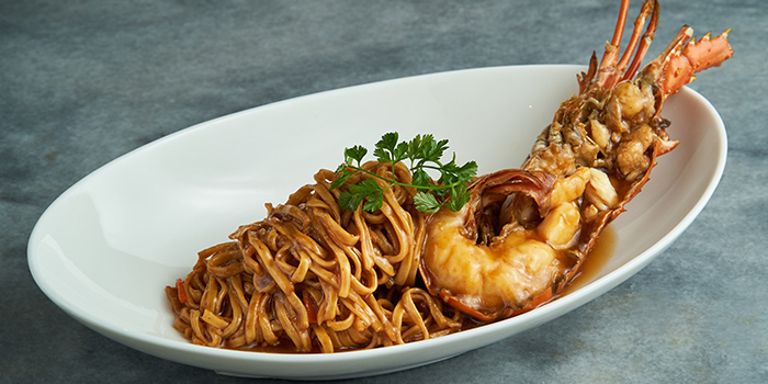 Lobster Braised Ee-fu Noodles from Wok Palace at Connexis in Buona Vista, Singapore
