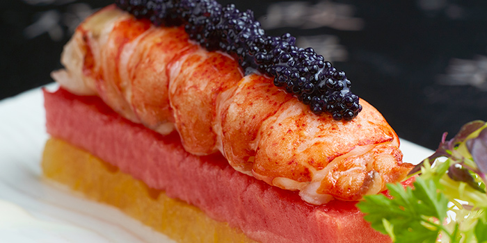 Sous Vide Lobster with Watermelon Salad from Wok Palace at Connexis in Buona Vista, Singapore