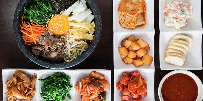 Bimbimbap from Woorinara Korean Restaurant in Bukit Timah, Singapore