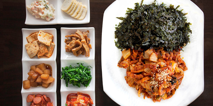 Kimchi Dish from Woorinara Korean Restaurant in Bukit Timah, Singapore