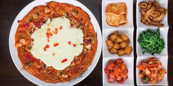 Pancake from Woorinara Korean Restaurant in Bukit Timah, Singapore