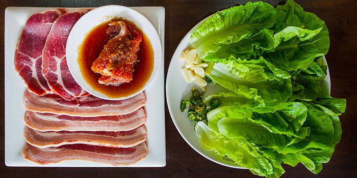 BBQ from Woorinara Korean Restaurant in Bukit Timah, Singapore