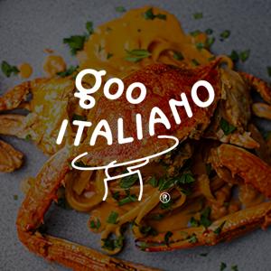 Logo of goo ITALIANO in Clarke Quay, Singapore