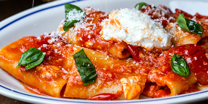 Paccheri with Datterino Tomato from goo ITALIANO in Clarke Quay, Singapore