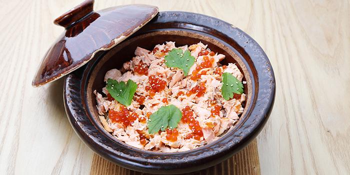 Salmon Ikura Donabe from MAI by Dashi Master Marusaya in Outram, Singapore