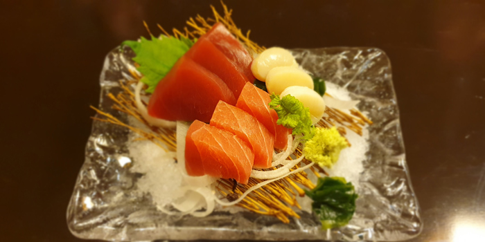 Sashimi Dishes from Serina Japanese Teppanyaki at 9/26 Soi Jim Thompson Surawong, Bangrak Bangkok
