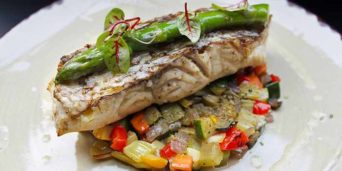 Sea Bream from Grissini at Grand Copthorne Waterfront Hotel in Robertson Quay, Singapore