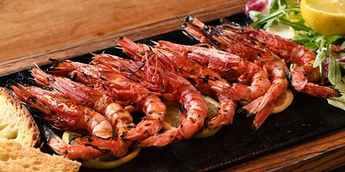 Shrimp, The Italian Club Wine Bar, Steak House & Pizza Gourmet, SOHO, Hong Kong