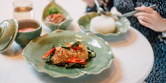 Signature Dishes from 57th Street at JW Marriott Hotel Sukhumvit 57 Klongtan Nua Wattana Bangkok