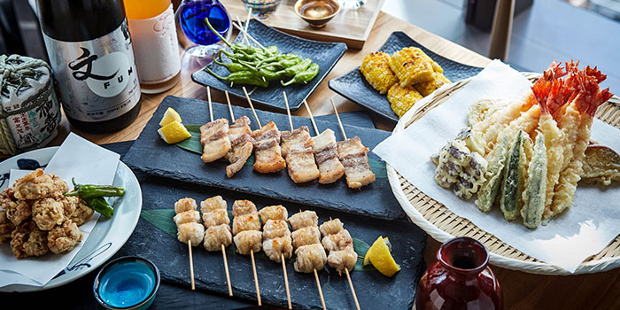 Skewers and Fried Foods, FUMI, Central, Hong Kong