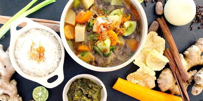 Sop Buntut at Cafe One Asian Fusion