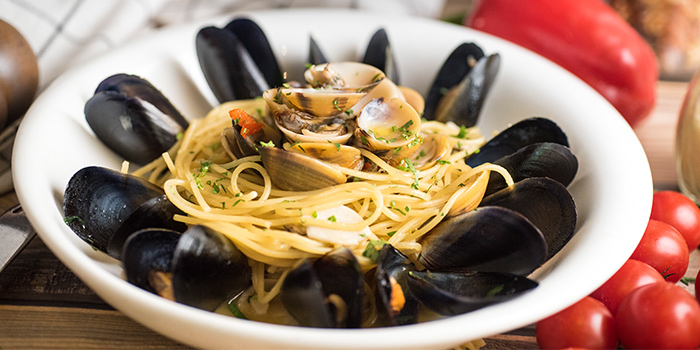 Spaghetti Vongole from Pietro Ristorante Italiano at Seletar Hills in Seletar, Singapore