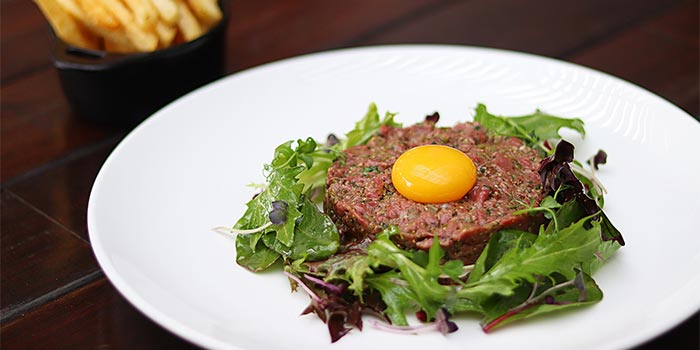 Steak Tartare at Riva Grill Bar & Terrace