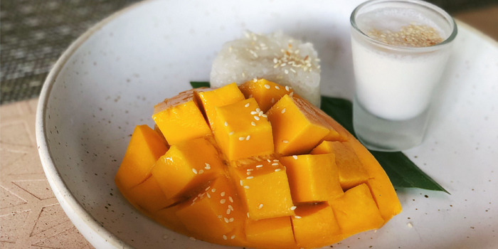 Mango Sticky Rice from Bambu Restaurant in Chalong, Phuket, Thailand