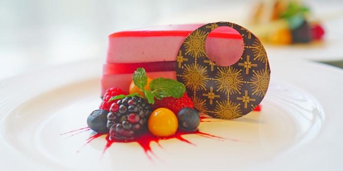 Strawberry Jelly Bravois at Anigre Restaurant, Sheraton Gandaria