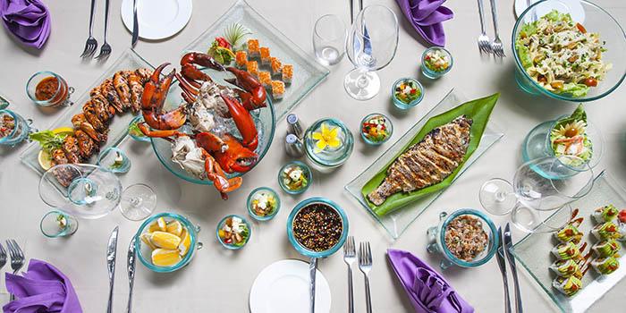 Food from Santai Beach House, Nusa Dua, Bali