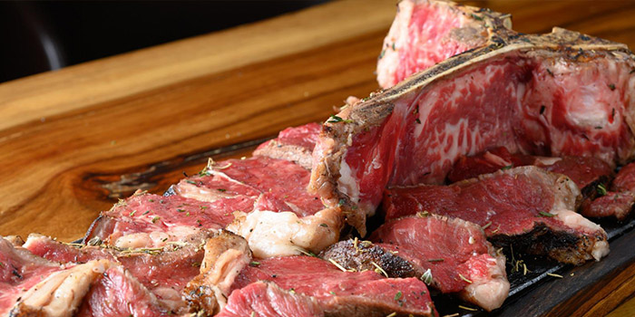 T-Bone Steak, The Italian Club Wine Bar, Steak House & Pizza Gourmet (Tai Po), Tai Po, Hong Kong