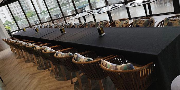 Table, Bong Pro-dry aging steakhouse, Hung Hom, Hong Kong