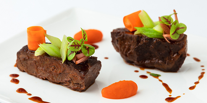 Black Angus Beef Cheek from Tablescape Restaurant & Bar at Grand Park City Hall in City Hall, Singapore