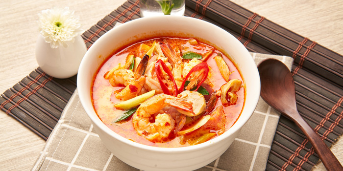 Tom Yum from Feung Nakorn Kitchen at 29 Soi Fuangthong Wat Rajaborphit, Khet Phra Nakhon Bangkok