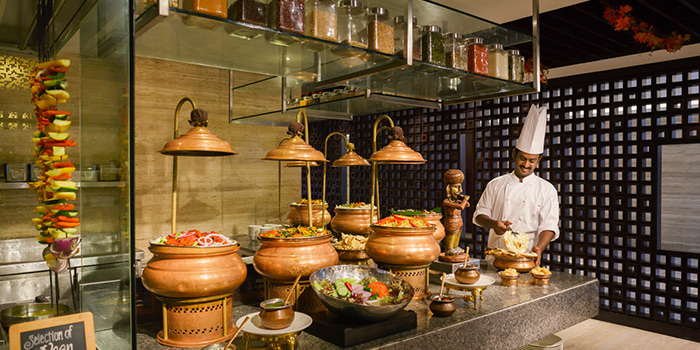 Indian Corner from Triple Three in Mandarin Orchard Singapore in Orchard, Singapore