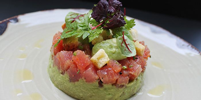 Tuna Tartare from Grissini at Grand Copthorne Waterfront Hotel in Robertson Quay, Singapore