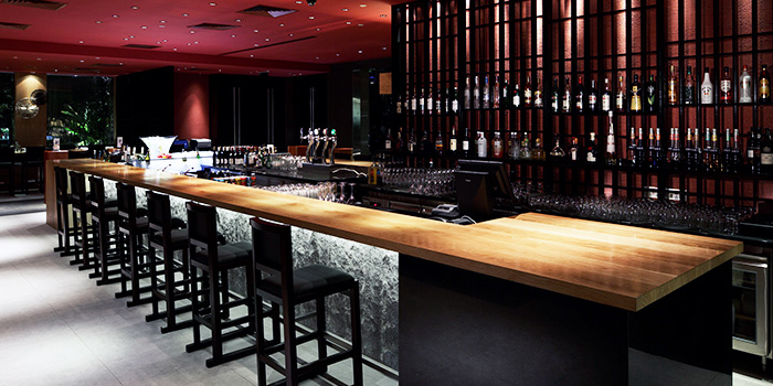 Wine Bar of TungLok Heen at Hotel Michael in Sentosa, Singapore