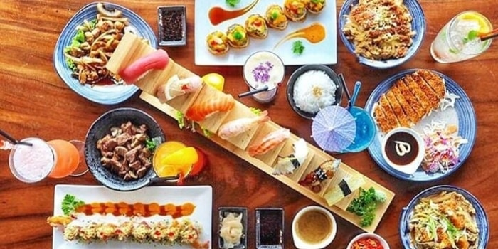Dish 1 at Sushi Phe