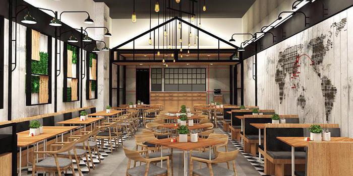 Interior 1 at School Food Bloomingmari, Pacific Place