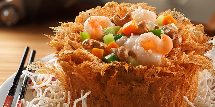 Yam Ring from Spring Court in Chinatown, Singapore